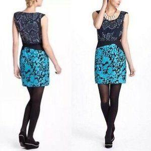 Anthropologie Leifsdottir Multi Pattern Dress